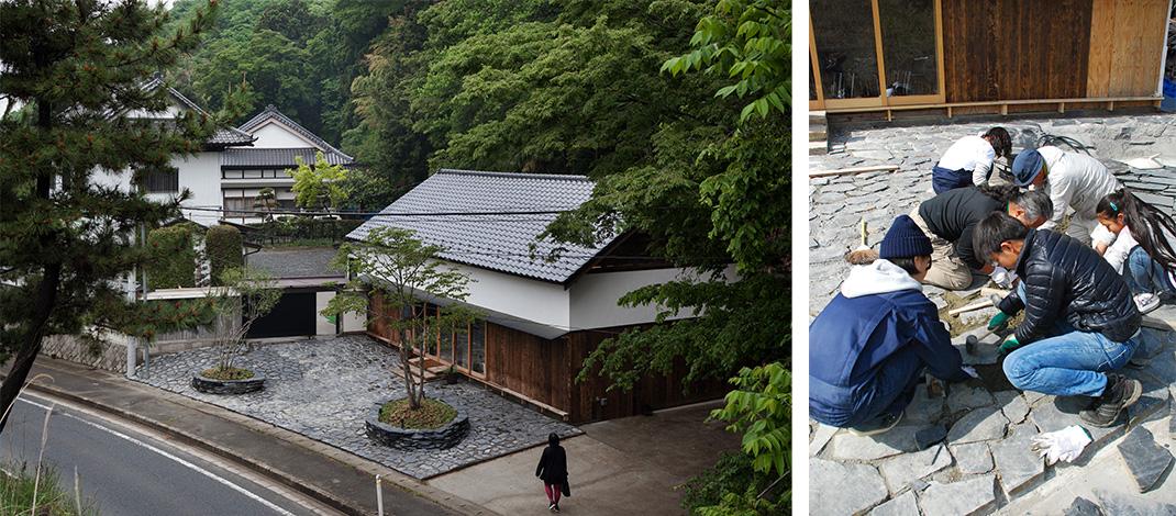 【写真】石巻・川の上プロジェクト百俵館 宮城県石巻市 2015年