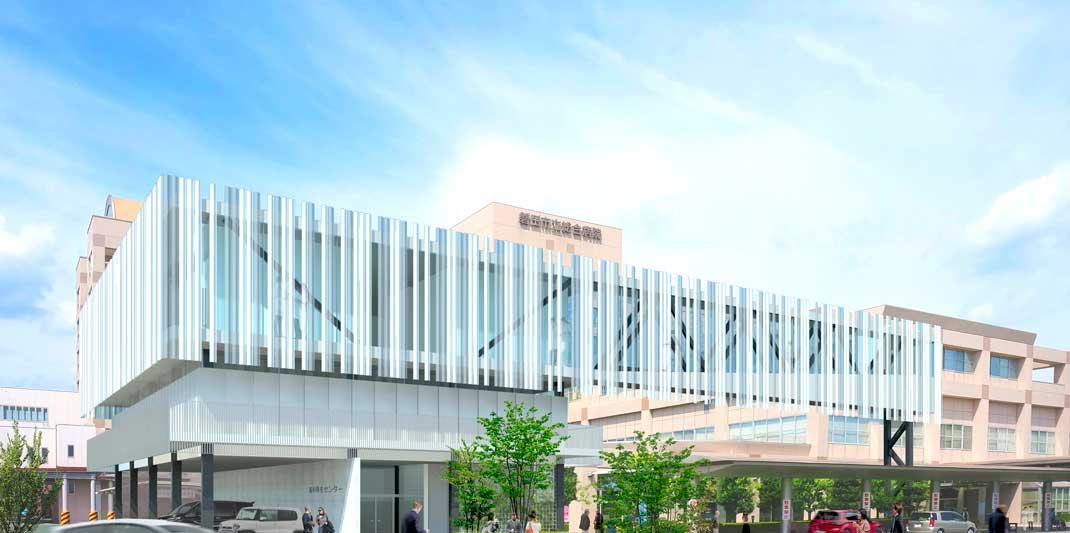 【写真】磐田市立総合病院研修棟