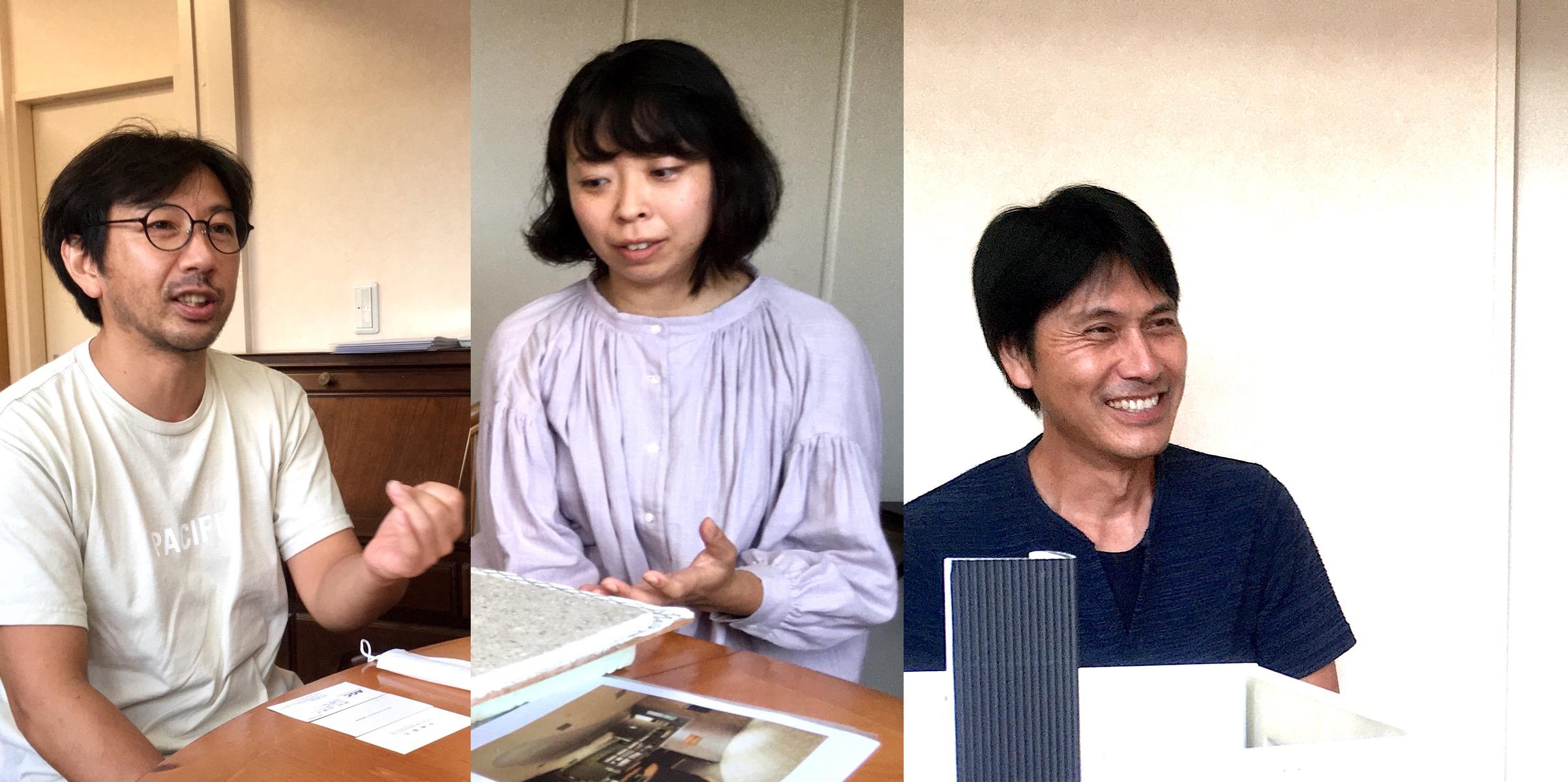 伊東建築塾で出会った3人が挑む新しい建築のつくり方